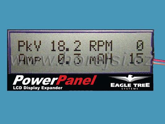 E-logger LCD displej