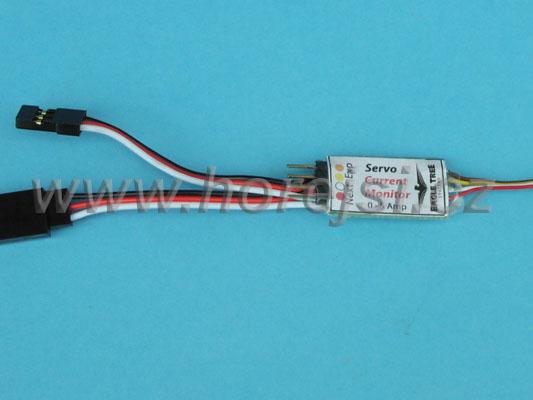 E-logger sonda měření proudu serv