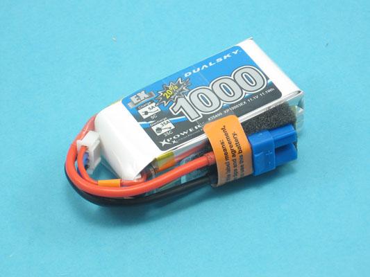 Akku LiPol Xpower 1000-3S  EX (35C)