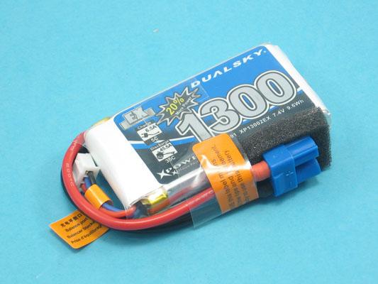 Akku LiPol Xpower 1300-2S  EX (35C)