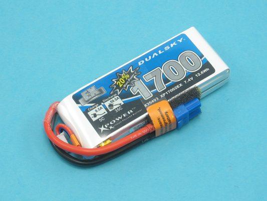 Akku LiPol Xpower 1700-2S  EX (35C)