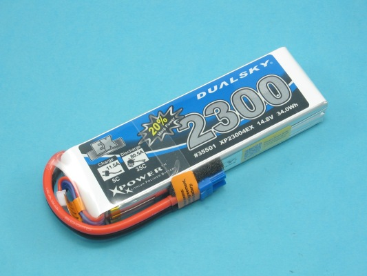 Akku LiPol Xpower 2300-4S  EX (35C)