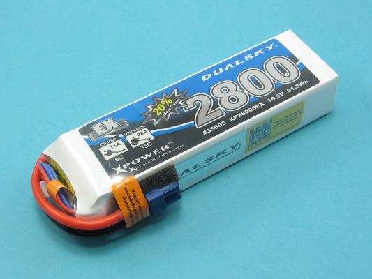 Akku LiPol Xpower 2800-5S  EX (30C)
