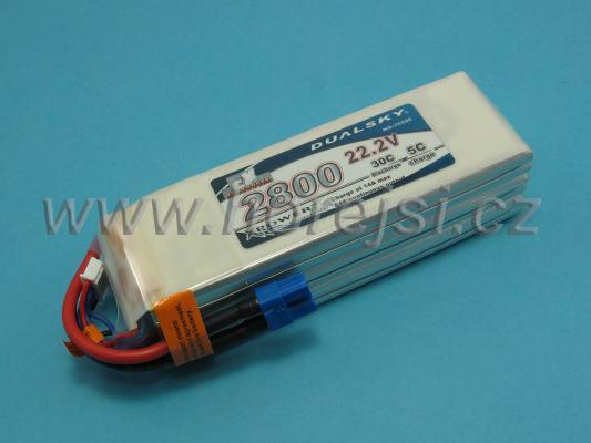 Akku LiPol Xpower 2800-6S  EX (30C)