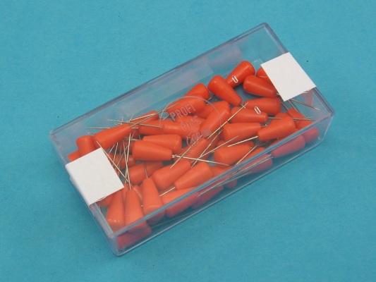 Modelářské špendlíky oranžová