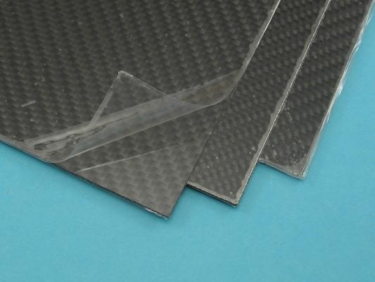 Deska uhlík/sklo 1 mm