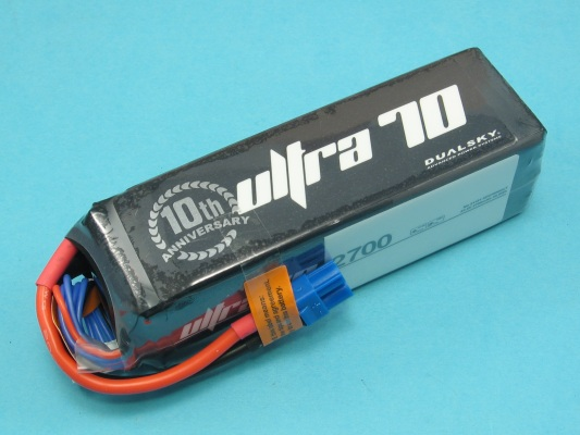 Akku LiPol XPower 2700-6S ULT 70C