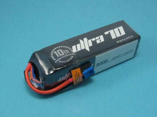 Akku LiPol XPower 4400-6S ULT 70C