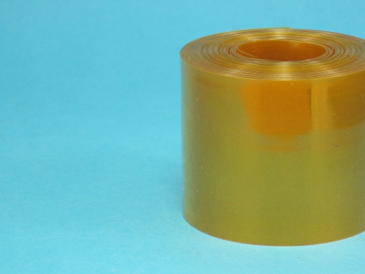 Smšť. bužírka 58 mm oranžová tr.