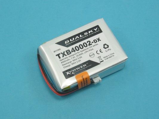 Akku LiPol TXB40002-DX