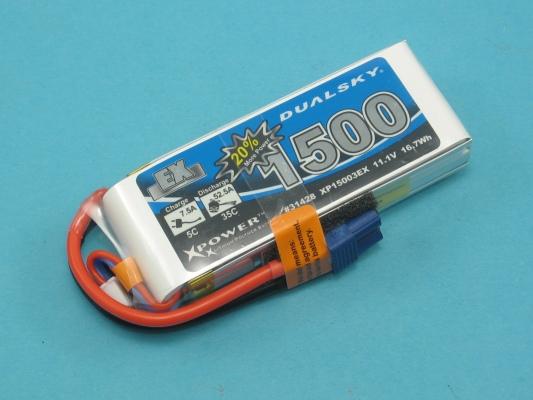 Akku LiPol Xpower 1500-3S  EX (35C)
