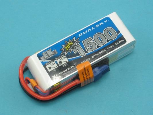 Akku LiPol Xpower 1500-4S  EX (35C)