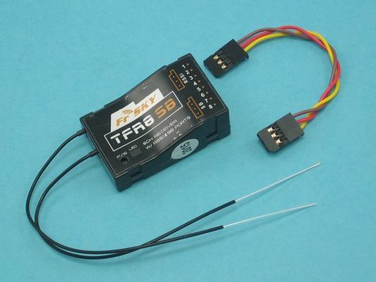 Přijímač FrSky TFR8SB FASST Compatible