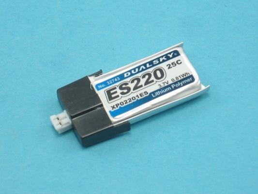 Akku LiPol Xpower 220-1S ES(25C)