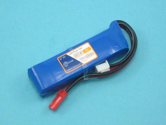 Akku LiPol G5  550-2S  25C