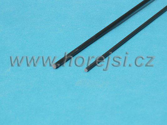 Sklolaminátová tyč 1,5 x 1500