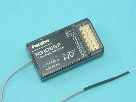 Přijímač Futaba R 3106GF 2.4GHz